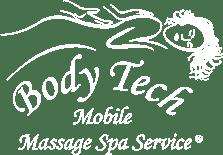 Body Tech Mobile Massage Spa Service, Logo
